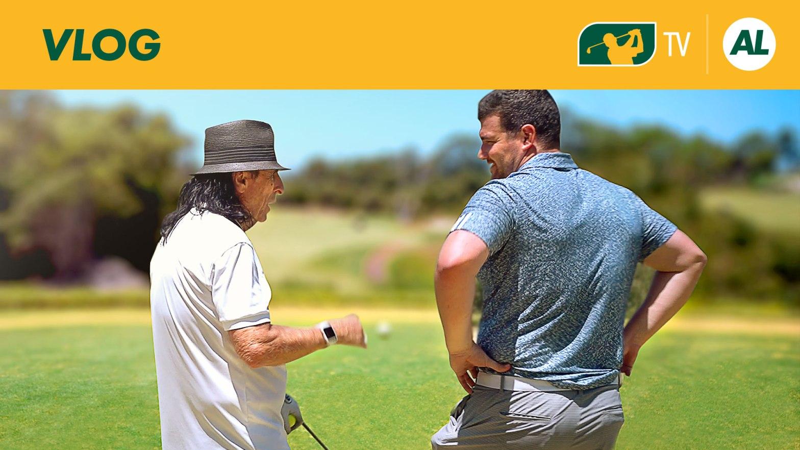 alex etches & alice cooper golf