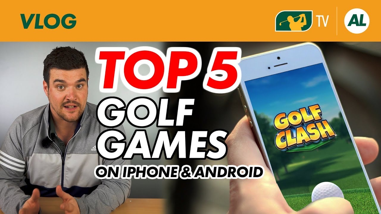 top 5 golf games on iphone & android